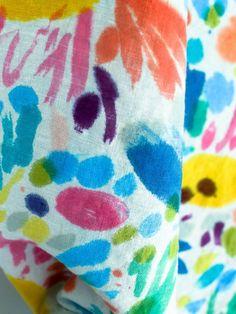 Floral Confetti Fabric — OK