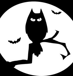Бесплатные фото на Pixabay - Летучая Мышь, Хэллоуин, Сова