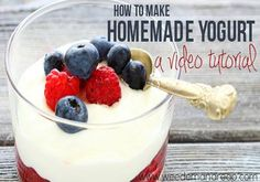 "How To Make Homemade Yogurt  http://homestead-and-survival.com/how-to-make-homemade-yogurt/  Get creative when you learn how to make homemade yogurt.  Please COMMENT & SHARE MY post! My recipes and posts aren't being seen lately, so I need your help!! Thanks!  To find this post when you are ready to use it, ""Share"" to your Timeline now!!  ╔═══════════════ ೋღღೋ ══════════=====════╗ Friend or Follow me: http://www.facebook.com/tennie.keirn Join our support group here:  ..."