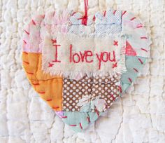 vintage snippet Could be a cute quilt label.