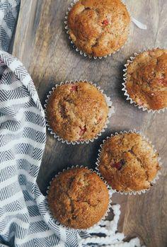 vegan rhubarb and ginger muffin recipe