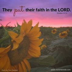 Sometimes it is really hard to have FAITH in God and in His timing & plans…