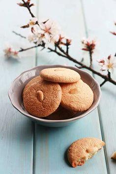 Amygdalotá - Greek almond meal, gluten free cookies
