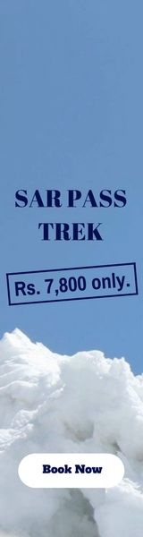 #Sar #Pass #Trek #April #2017 Trekking in a vast country like India can be magical. You can walk through icy deserts & tropical rain forests, climb through Himalayan peaks or run down expansive rolling meadows, all without ever crossing a national border. So what you waiting for register yourself today. Call at: 08693822762 or 08879421532 Email at : info@himalayadestination.com