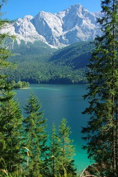 Eibsee, #Germany.