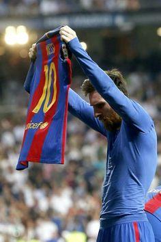 El 2-3 de Messi en el Bernabeu