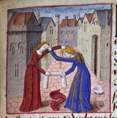 Research and re-creation of medieval costume and crafts by THL Edyth Miller