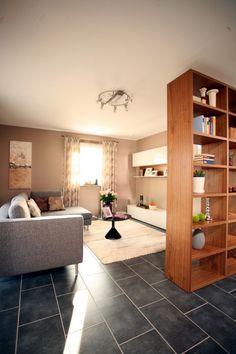 Fertighaus Wohnidee Wohnzimmer MEDLEY 300