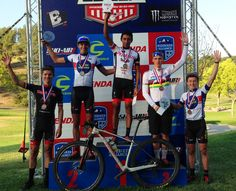 Whole Athlete Junior Team Owning the podium in early season races.