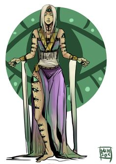 Dalikamata. She is the Goddess of Health and Ailments. She is also known as the many-eyed god. The purpose of her eyes is that it makes her look after people who are in need. She is also known to punish people who inflicts pain and suffering to the innocent with blindness or sickness.
