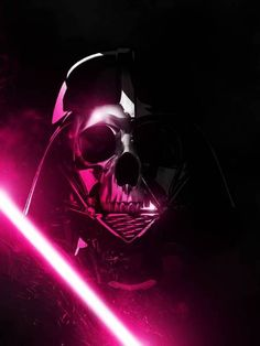 Darth Vader with some hot pink awesomeness
