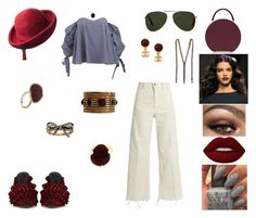 """""""&"""" by ohbabyimrachel ❤ liked on Polyvore featuring Caroline Constas, Rachel Comey, BUwood, Oliver Goldsmith, Marco de Vincenzo, Lime Crime, Adoriana, Chanel, Schiaparelli and Marc Jacobs"""