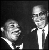 Lesson plan explaining the difference between Malcolm X and Martin Luther King Jr. and look into why one worked and why it was better or not better for their own people