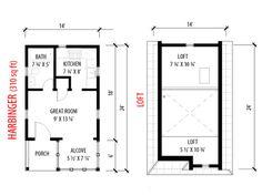 Harbinger Plans by Tumbleweed Tiny House Company, via Flickr