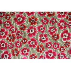 Liberty Ellie Ruth Liberty Of London, Boutique, Fabric, Red, Tejido, Tela, Boutiques, Fabrics, Tejidos