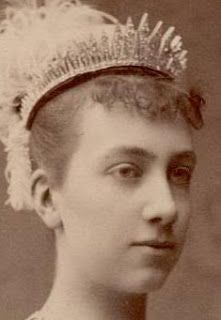 The Baden Fringe Tiara - Queen Victoria of Sweden; from her parents, the Grand Duke & Duchess of Baden, on the occasion of her 1881 marriage to King Gustaf V of Sweden