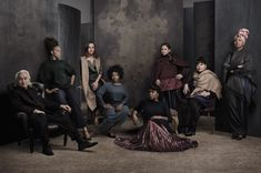 In Celebration of the Release of the Movie Hidden   Figures,Vanity Fair Studios Profiles Notable and Diverse Figures in S.T.E.M. All fierce females...and one male!