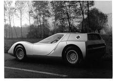 c.1966 ALFA ROMEO 1600 SCARABEO BERLINETTA PROPOSAL - by OSI (Officine Stampaggi Industrial) of Turin.