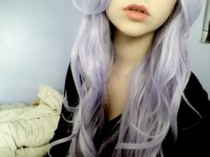 i want ombre lavender hair. its going to happen soon