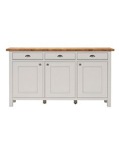 Buy the Padstow Larder Unit Putty from Marks and Spencer's range. Furniture Dining Table, Sideboard Furniture, Furniture Sale, Large Bookcase, Wooden Bookcase, Kitchen Dresser, Kitchen Dining, Dining Area, Dresser Shelves