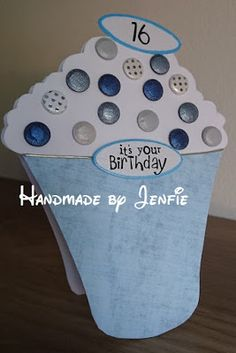 Handmade by Jenfie: Time for Cake Craftwork Cards Candi Birthday Messages