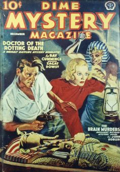 Dime Mystery Magazine [December 1938]