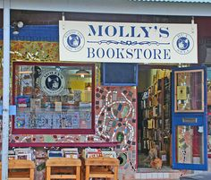 Molly's Bookstore in Philadelphia, Pennsylvania. Molly's is a family owned and operated second-hand book and record store, located in the heart of Philly's historic Italian Market.                  Photo by F.X.Enderby, via Flickr