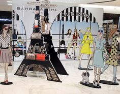 Visual Merchandising at STEFFL Department Store Vienna - Barbara Rihl - September 2014