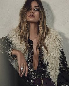The Kick It In Reverse vest from #FreePeople has arrived in store and online || A two for the price of one piece with beautiful faux shaggy fur on one side (as pictured) or a stitched embroidered side ||  x x