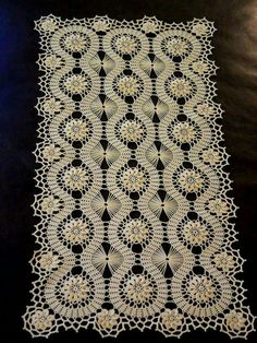 Bruges Lace Crochet doily for