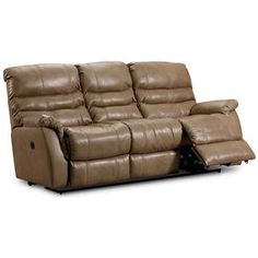 Best Simmons® Bucaneer Cocoa Reclining Console Loveseat At Big 400 x 300