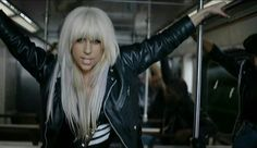 Lady Gaga - LoveGame -- super sexy hair and outfit- Fashion -- old school Lady GaGa! LOVE IT!