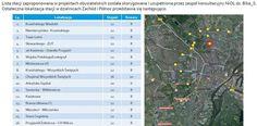 Lista nowych stacji Bike S w Szczecinie