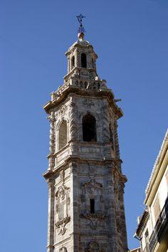 Campanario Iglesia Santa Catalina - Valencia - ( España ) ..... RODRIMAN ..... LRM
