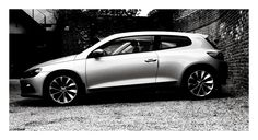VW Scirocco, side view