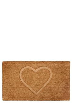 Buy Heart Embossed Doormat from the Next UK online shop