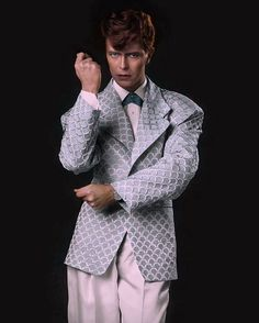 """156 Likes, 6 Comments - BowieDuke (@bowieduke) on Instagram: """"Photo shoot for the """"As the world falls down"""" video clip. David looks fucking awesome! (1986)…"""""""