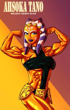 Ahsoka Tano flex by Ritualist on DeviantArt Star Wars Puns, Star Wars Girls, New Fantasy, Ahsoka Tano, George Lucas, The Force Is Strong, Muscle Girls, One Pic, Iron Man