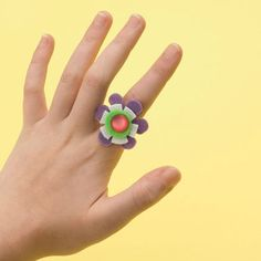 Felt and pipe cleaner ring