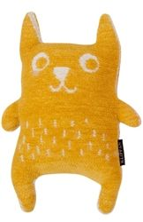 Little Bear Yellow 100% organic cotton chenille toys are available at Northlight Homestore