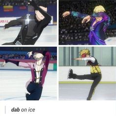 Viktor even dabs majesticly!