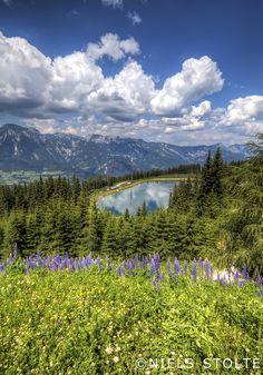 Planai Lake . Schladming, Austria