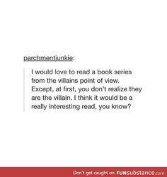 I'm already as villainous as they come