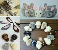 Woolen bunnies