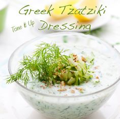 Greek Tzatziki Dressing ~ perfect on fresh veggies, grilled chick or fish or your favorite salad!
