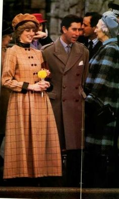 """November 25, 1982: Prince Charles and Princess Diana visited Barmouth in West Wales, for the naming of the new lifeboat """"R.N.L.B. Princess of Wales"""""""