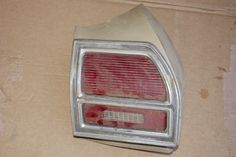 Used 1969 Chevelle RH Tail Lamp Housing with Lens & Bezel 1969 Chevelle, Pontiac Tempest, Thing 1, Used Parts, Lens, Klance, Lentils