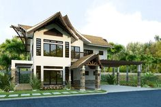 Argao Royal Palms is a new beachfront subdivision located in Argao Cebu. Every abode has an Asian-contemporary design that exudes laid- back luxur Beachfront House, Beachfront Property, Small Cafe Design, Rustic French Country, Modern Asian, Lots For Sale, Home Design Plans, Model Homes, Detached House