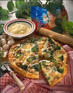 Unser beliebtes Rezept für Broccoli-Pizza und mehr als 55.000 weitere kostenlose Rezepte auf LECKER.de.