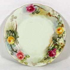 Rose Haviland Limoges Plates